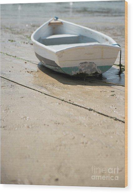 Boat Wood Print