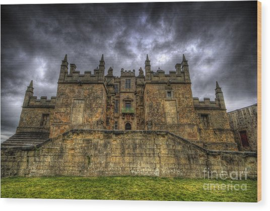 Bolsover Castle Wood Print