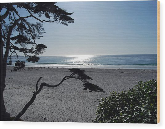 Carmel Sunrise Wood Print