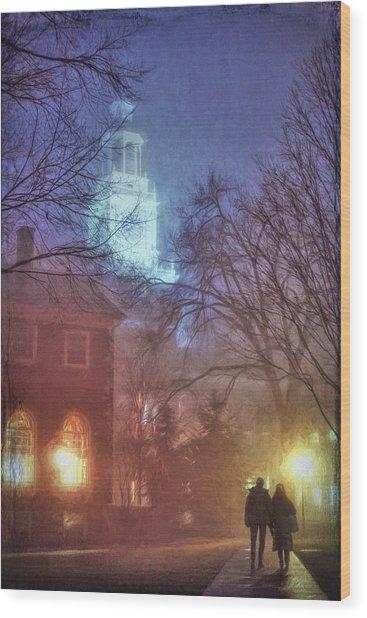 Dartmouth College Wood Print