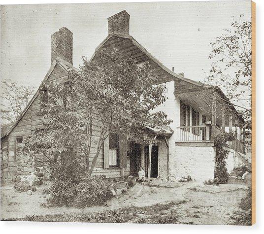 Dyckman House Wood Print