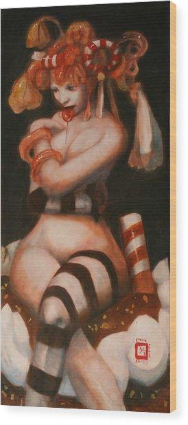 Exotic Candy Wood Print by Ralph Nixon Jr