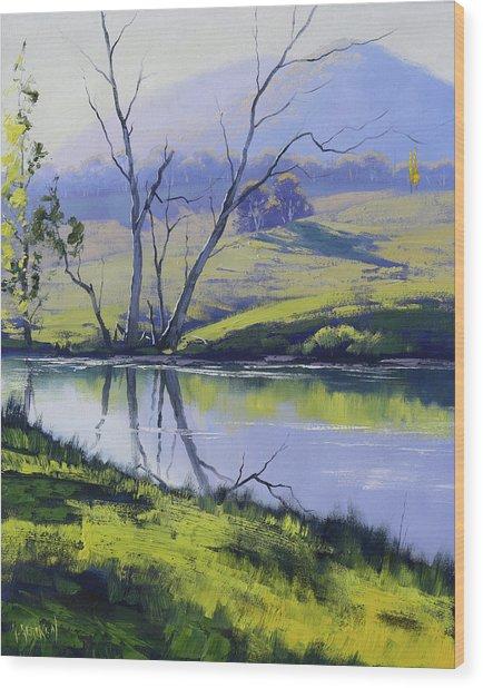 Fish River Tarana Wood Print