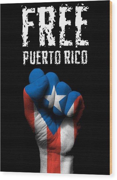 Free Puerto Rico Wood Print