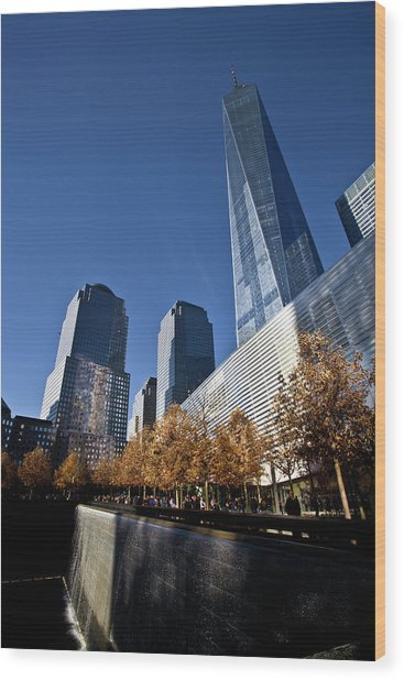 Freedom Tower Wood Print