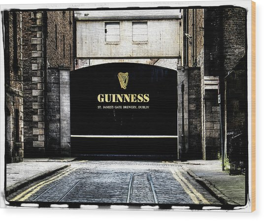 Guinness Wood Print