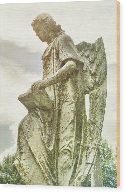 Heavens Angel  Wood Print by JAMART Photography