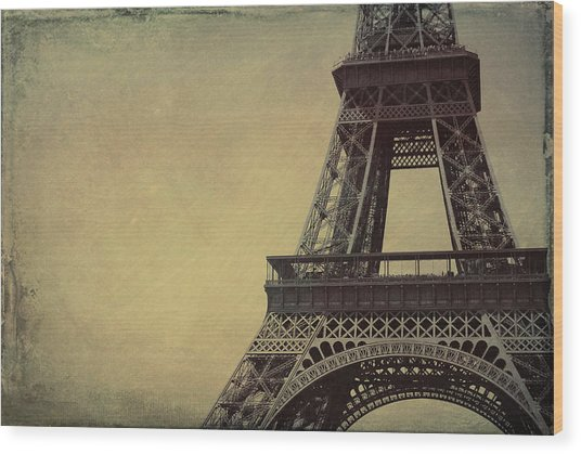 Le Jules Vernes Grunge Wood Print by JAMART Photography