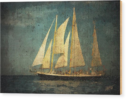 Liberte' Wood Print