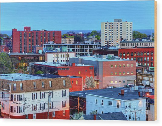 Lynn, Massachusetts Wood Print by Denis Tangney Jr