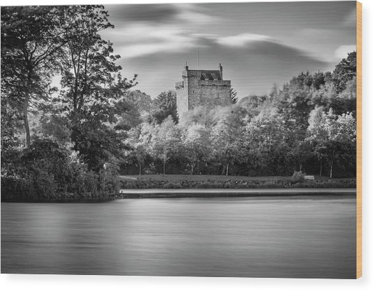 Mains Castle East Kilbride, Scotland Wood Print