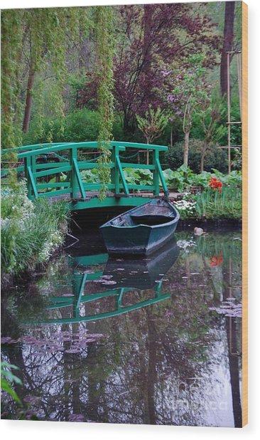 Monet Wood Print by Nancy Bradley