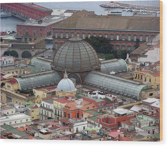 Naples Italy Wood Print