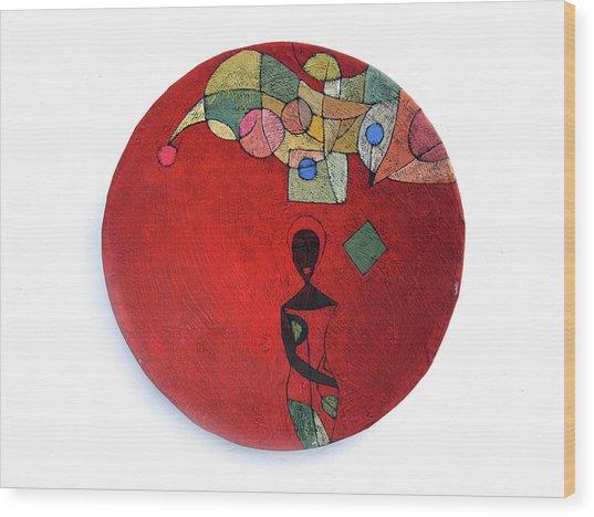 No Turning Back Wood Print by Ronex Ahimbisibwe