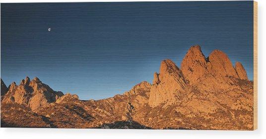 Organ Mountans At Sunrise-2 Wood Print