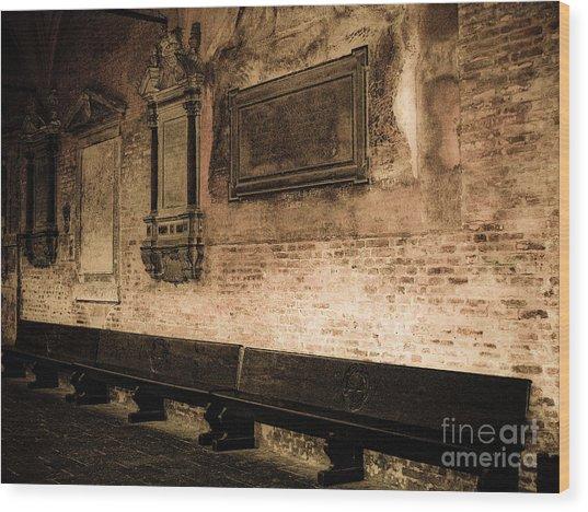 S. Guistina Di Padova Wood Print by Emilio Lovisa