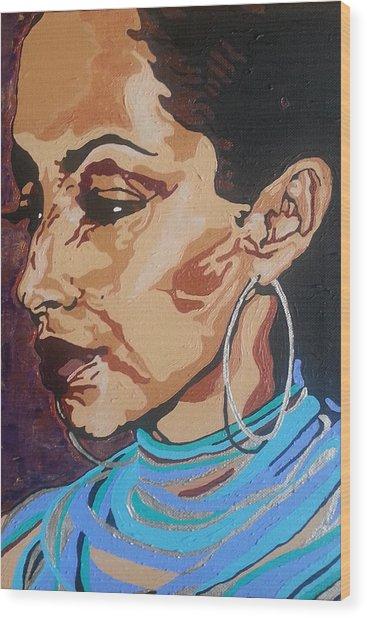 Sade Adu Wood Print