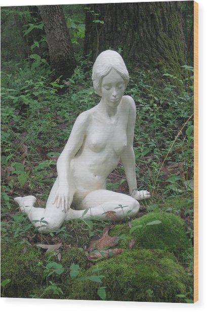 Serenity Wood Print by Deborah Dendler
