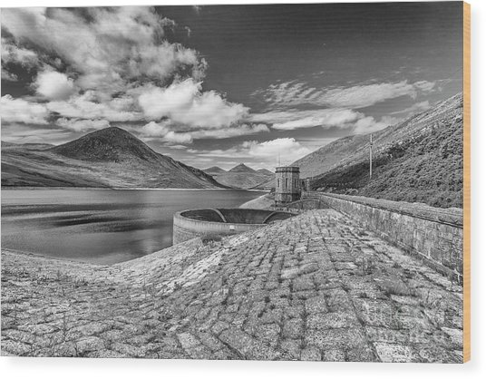 Silent Valley Wood Print