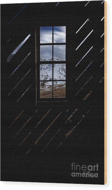 Sound Democrat Mill Wood Print