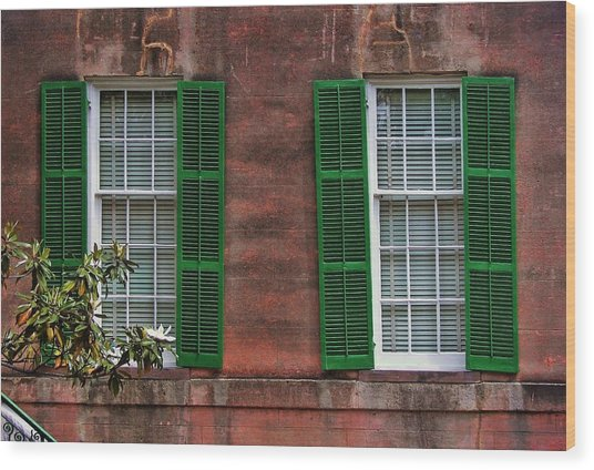 Southern Charm Wood Print by JAMART Photography