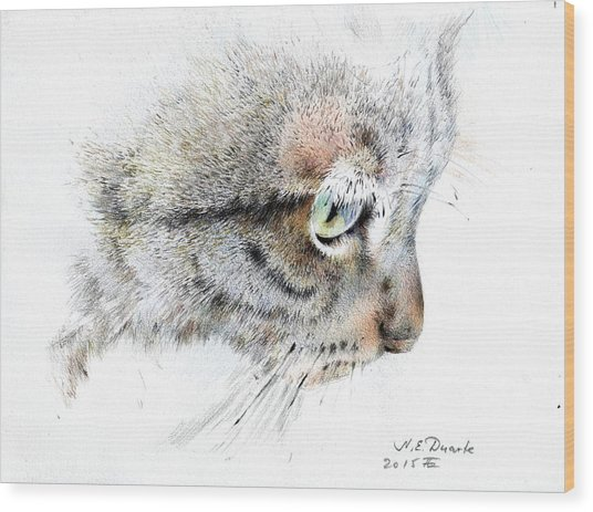 Syomka Wood Print by Natalia Eremeyeva Duarte