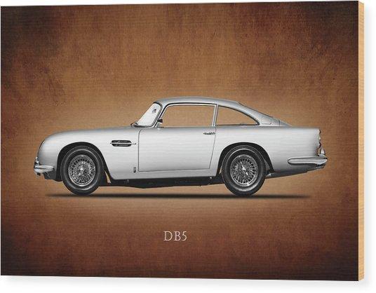 The Aston Martin Db5 Wood Print