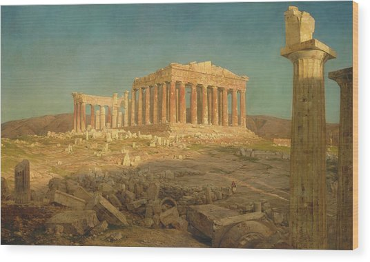 The Parthenon Wood Print