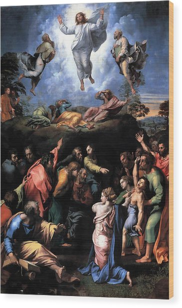 The Transfiguration Wood Print