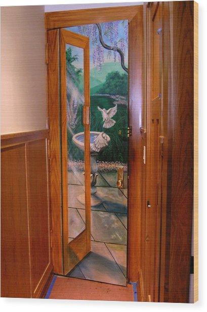 Trompe L'oeil  Wood Print