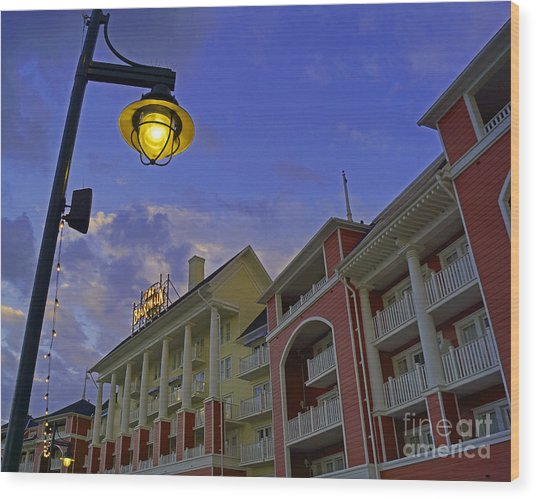Walt Disney World - Boardwalk Villas  Wood Print