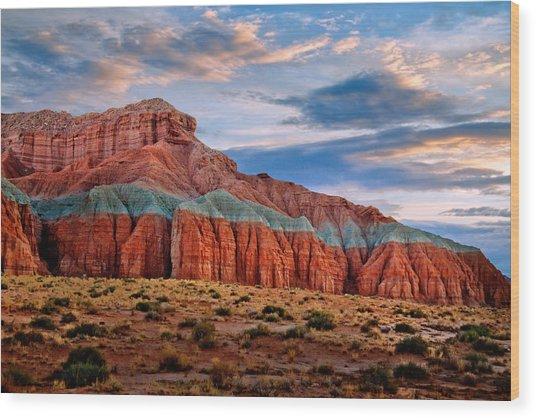 Wild Horse Mesa Wood Print