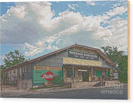 Woerner Warehouse Wood Print