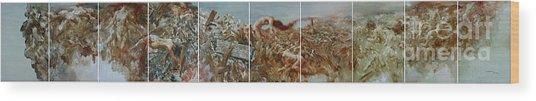 2008 05 12-2008 05 21 Wood Print by Gongwei