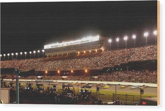 2009 Coke Zero 400 At Daytona International Speedway Wood Print