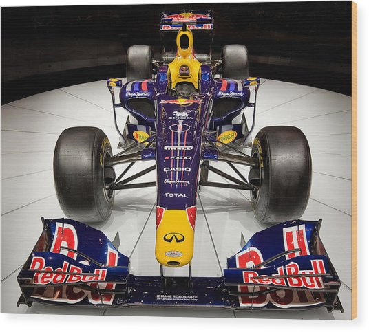 2010 Red Bull F1 Wood Print