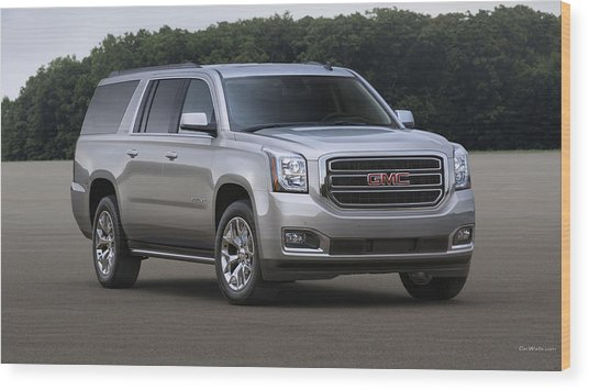 2015 Gmc Yukon Xl And Yukon Denali Wood Print