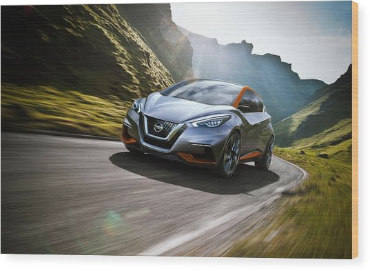 2015 Nissan Sway Concept Wide Wood Print