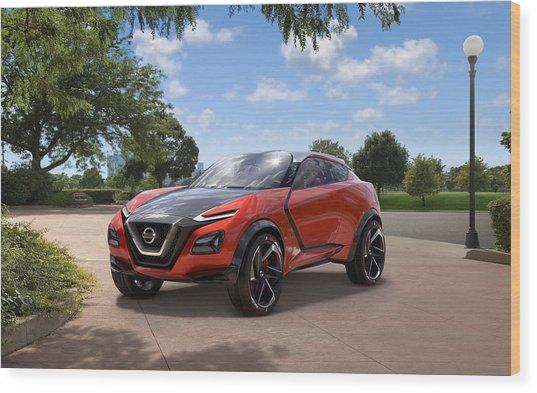 2016 Nissan Gripz Concept 3 Wide Wood Print