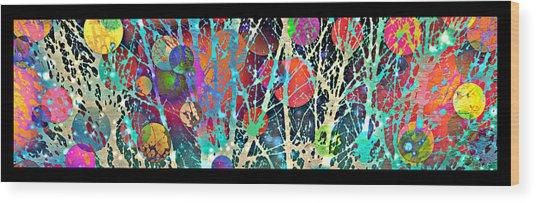 2017 Christmas Card 6 Wood Print