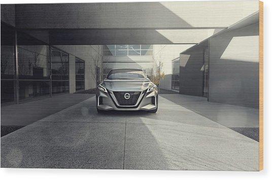 2017 Nissan Vmotion 2 Concept 4 Wood Print