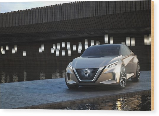 2017 Nissan Vmotion 20 Wood Print