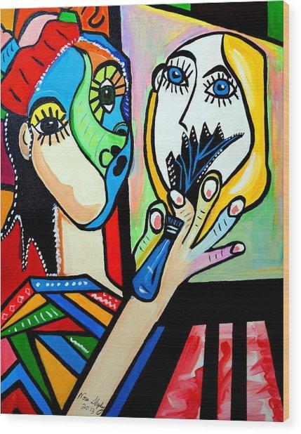 Artist Picasso Wood Print