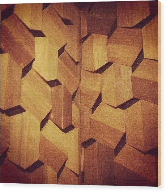 Instagram Photo Wood Print
