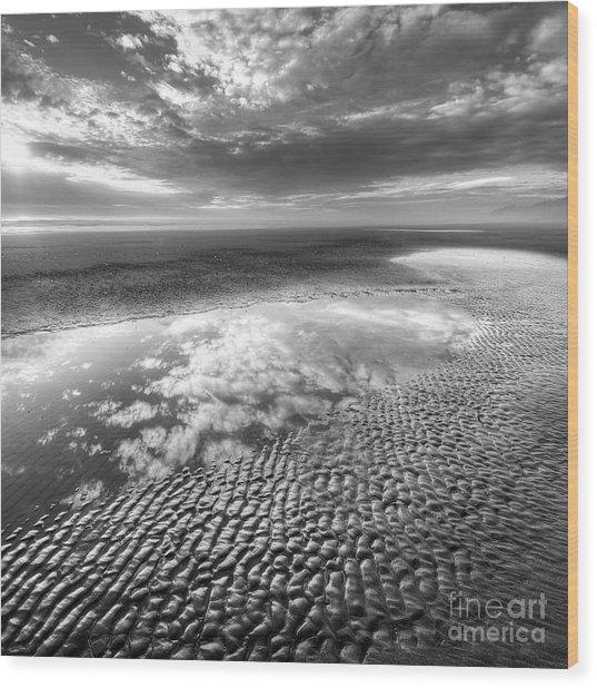 Second Beach Wood Print