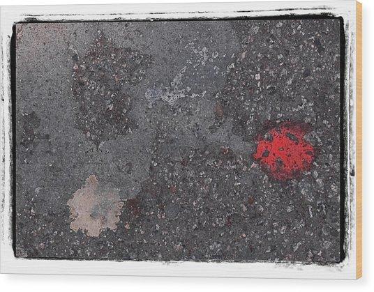 Abstract 72 Wood Print