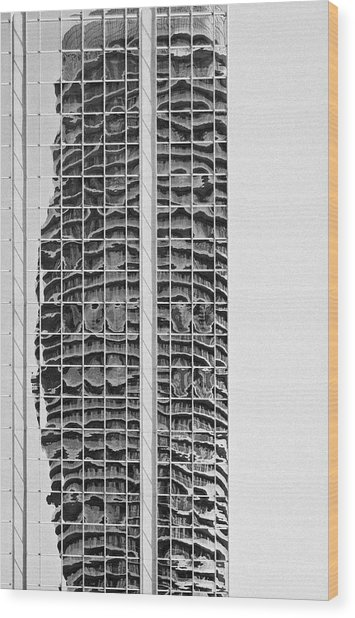 Abstract Architecture - Mississauga Wood Print
