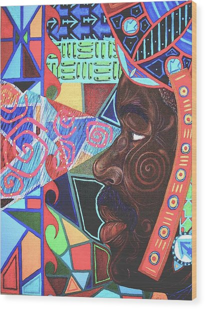 Aesthetic Ascension Wood Print by Malik Seneferu
