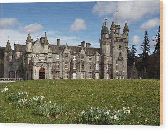 Balmoral Castle Wood Print