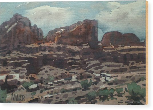 Canyonlands Wood Print by Donald Maier